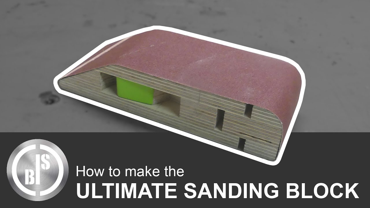 AWESOME HOW FAST YOU CAN CHANGE THE SANDPAPER! | The Ultimate Hand Sanding Block | Plans available